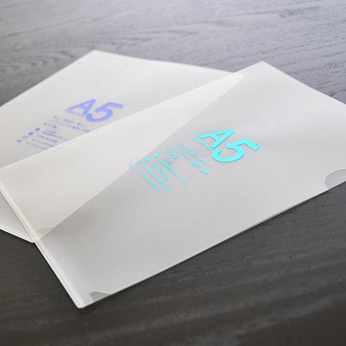 オリジナルクリアファイルのデザイン印刷 ...