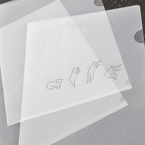 クリアファイル箔押し印刷 大阪府 T様