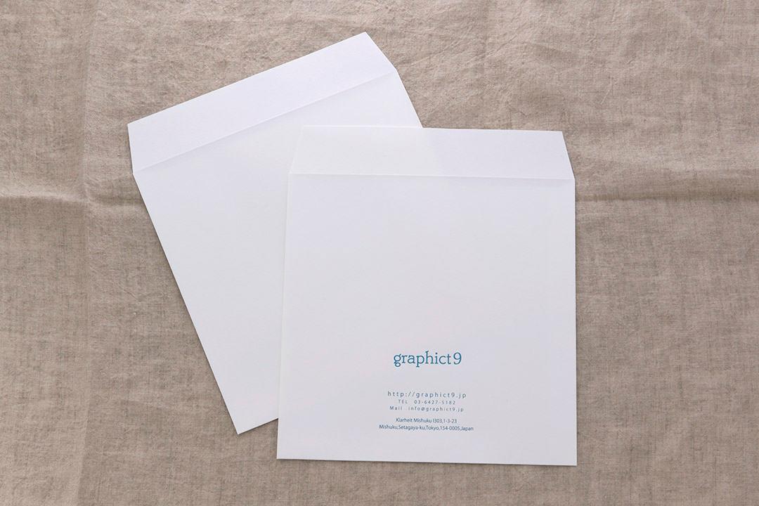 封筒箔押し印刷 株式会社グラフィクトナイン様