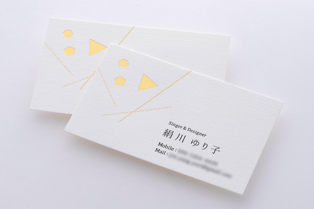 紙:クッション紙<br>箔:つや消し金箔111・つや消し黒箔
